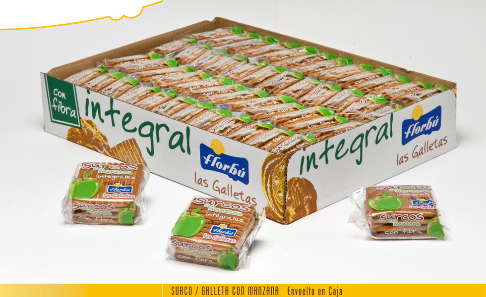 granel caja integral con fructosa